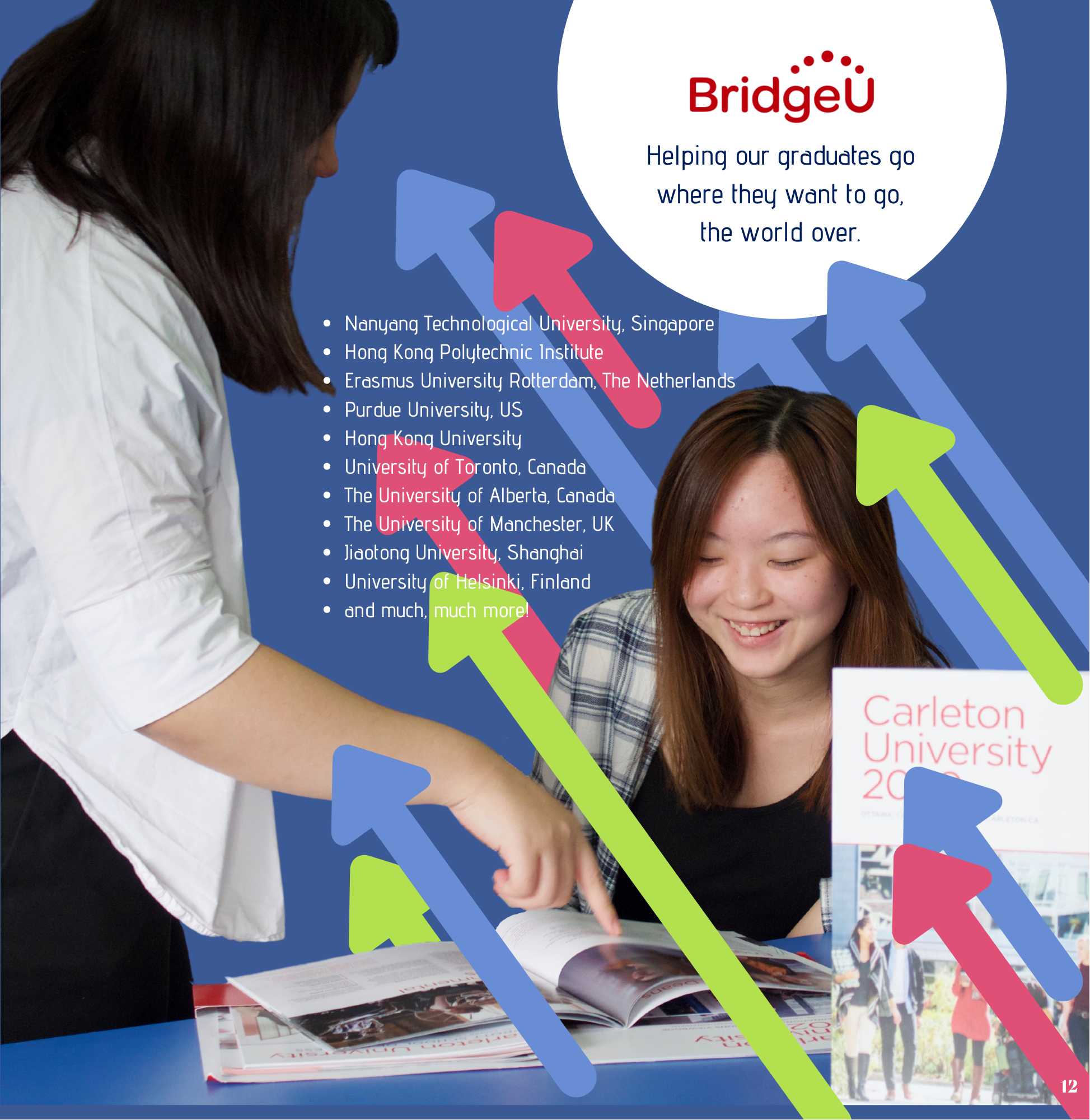 Bridge U Ad Students
